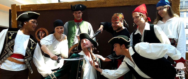 Disfraces de Piratas, Bucaneros y Corsarios