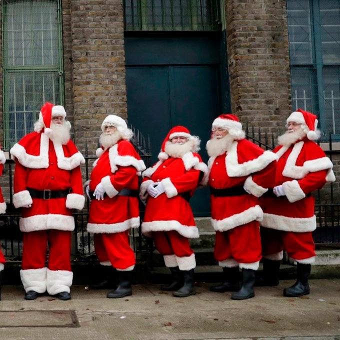 Pelucas de Santa Claus o Papá Noel