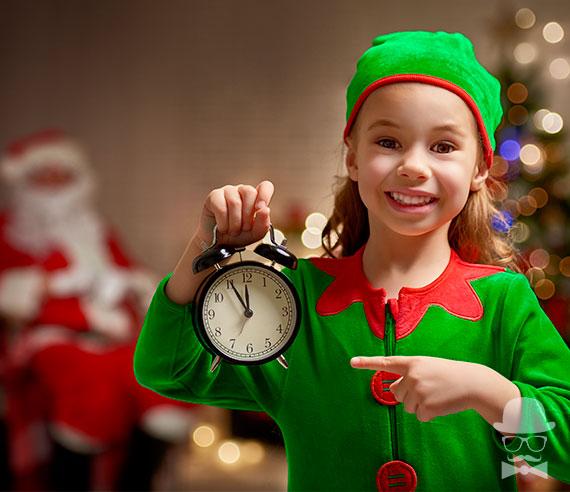 Disfraces Navidad Nina