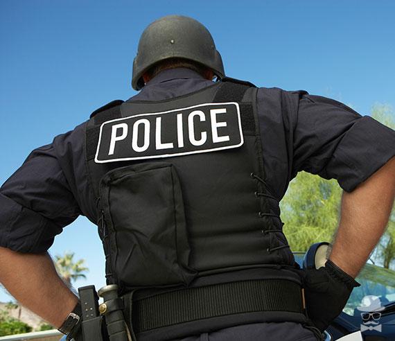 Compra disfraces de policia